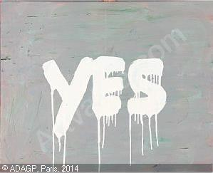 Peter Bonde, 'Yes,' 1998, oil on canvas