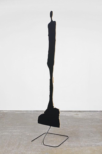 Peter Coffin (b 1972), 'Sculpture Silhouette Prop (A. Giacometti 'Diego' 1960),' 2007, mixed media
