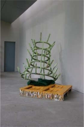 Phyllida Barlow, 'Untitled (Bottle Rack)', 2006