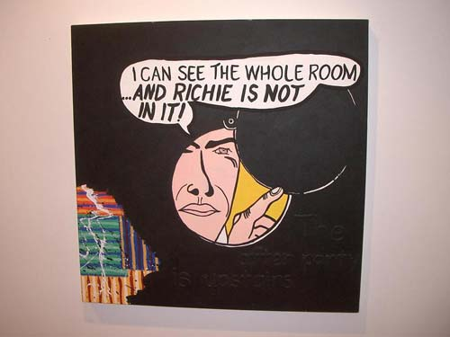 Richard Bell, 'I can see the whole room', 2007, acrylic on canvas