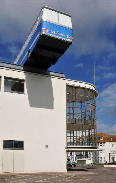 Richard Wilson, 'Hang On A Minute Lads... I've Got A Great Idea', 2012. De La Warr Pavillion