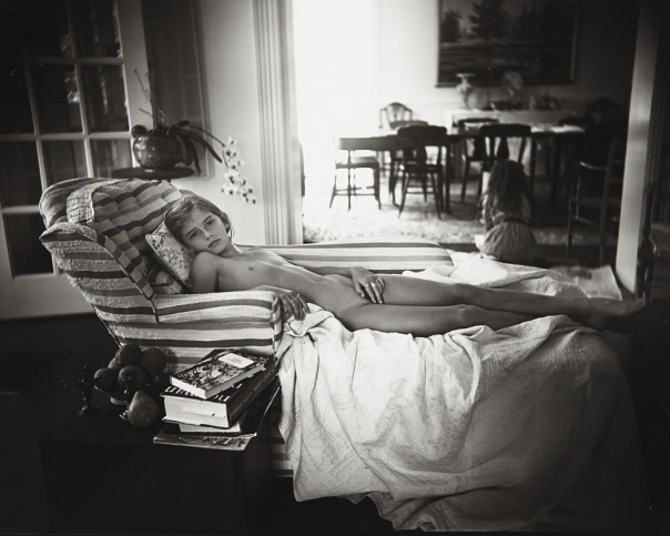 Sally Mann, 'Venus After School', 1992, gelatin silver print., 20 x 25.1 cm