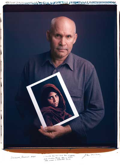 Tim Mantonani, 'Steve Mccurry', (Behind Photographs Project), 2002