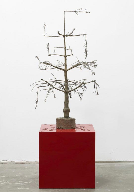 Tim Noble and Sue Webster, 'The bad little Christmas Tree,' 2009, bronze, 155 x 88 x 136 cm
