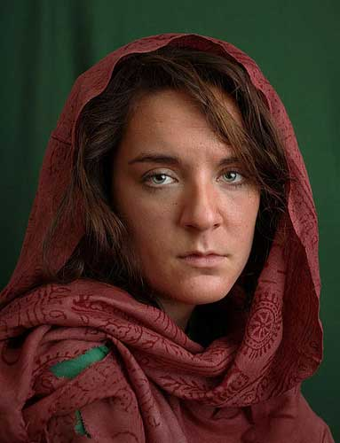 Tom Starkweather, 'DIY Famous Photographs - Steve McCurry, Afghan Girl, 1984', 2008